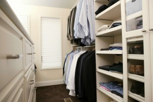 Adding value with a luxury closet